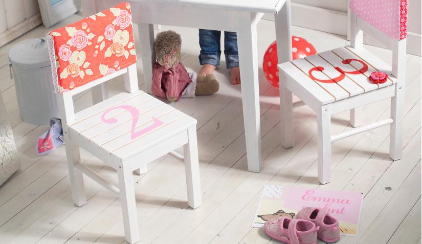 Krzesło decoupage dla dzieci