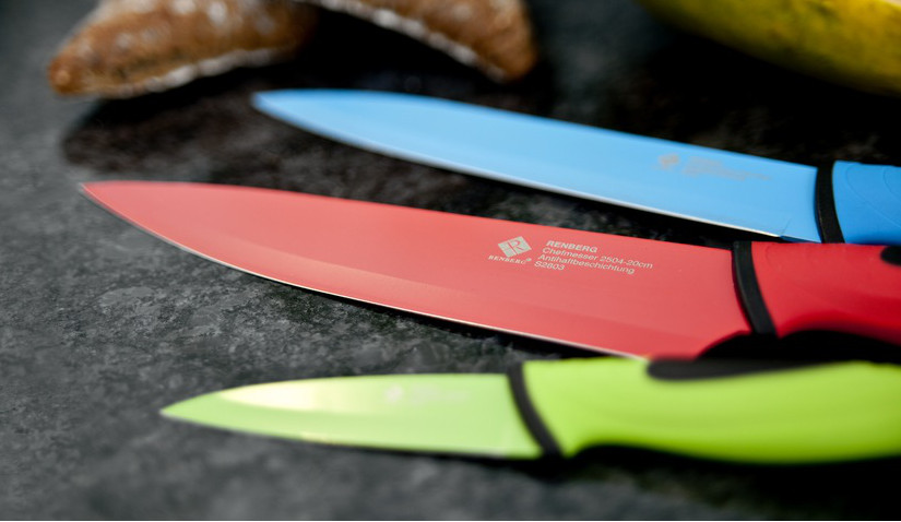 Listwa magnetyczna i kolorowe noże