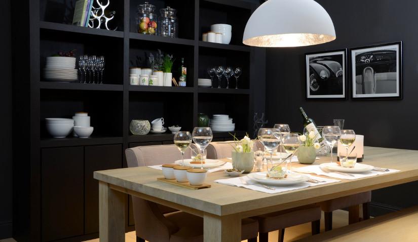 Oświetlenie w stylu skandynawskim do kuchni