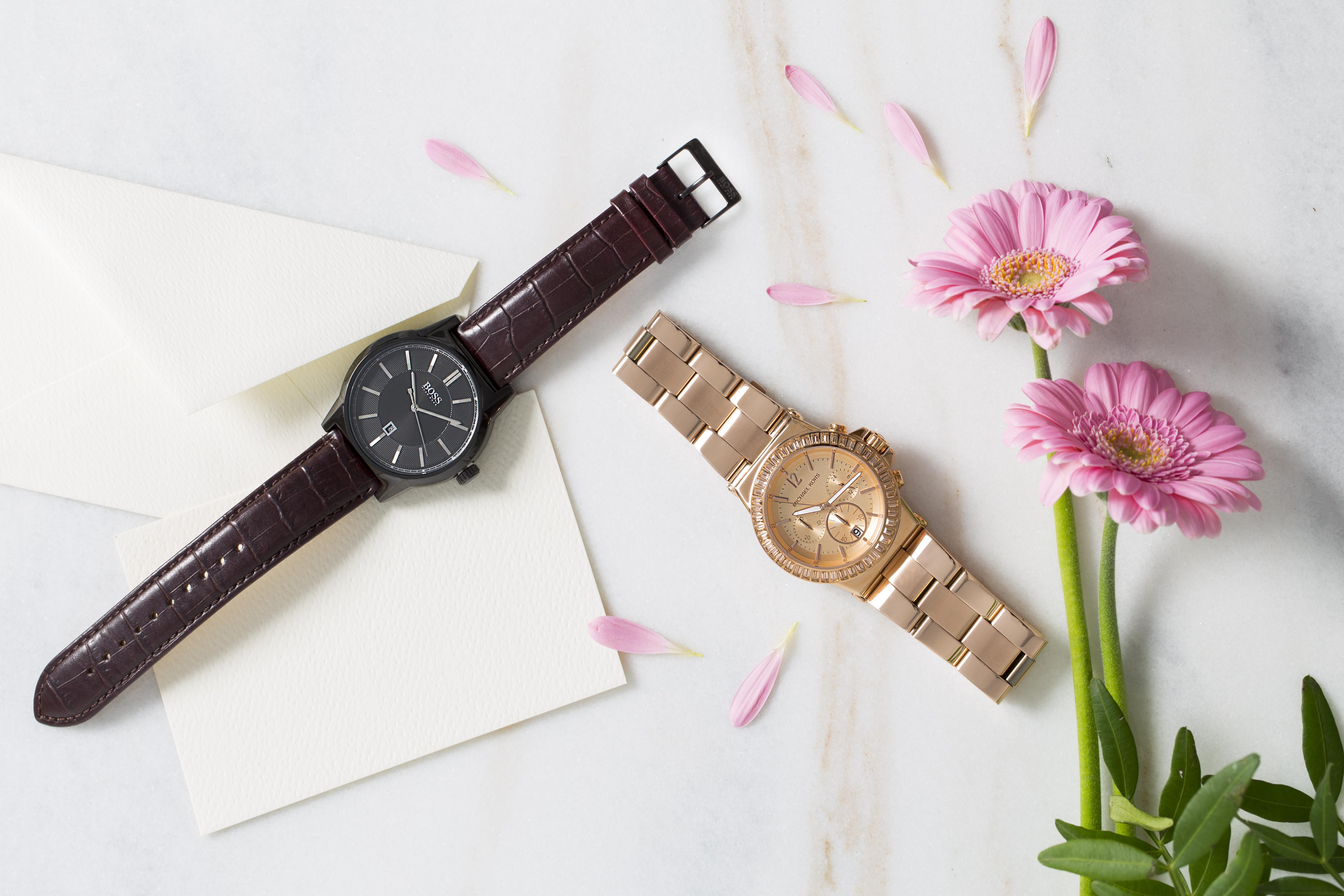Zegarek męski i damski