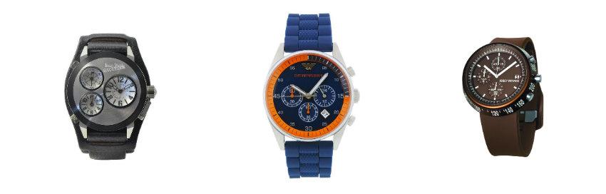 zegarek męski w różnych kolorach