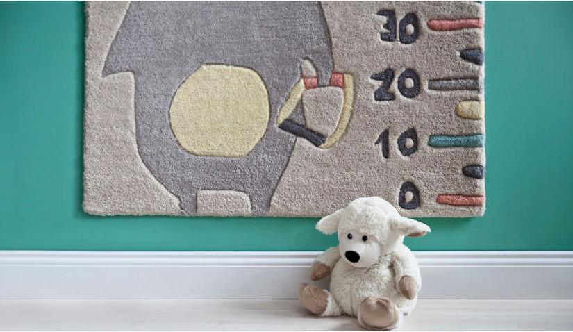 Zielony pokój dla małego dziecka