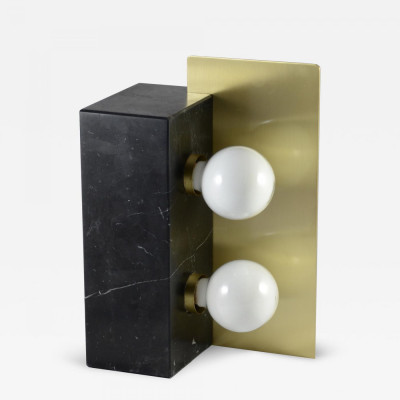 """Marble """"Cubus"""" Table Lamp"""