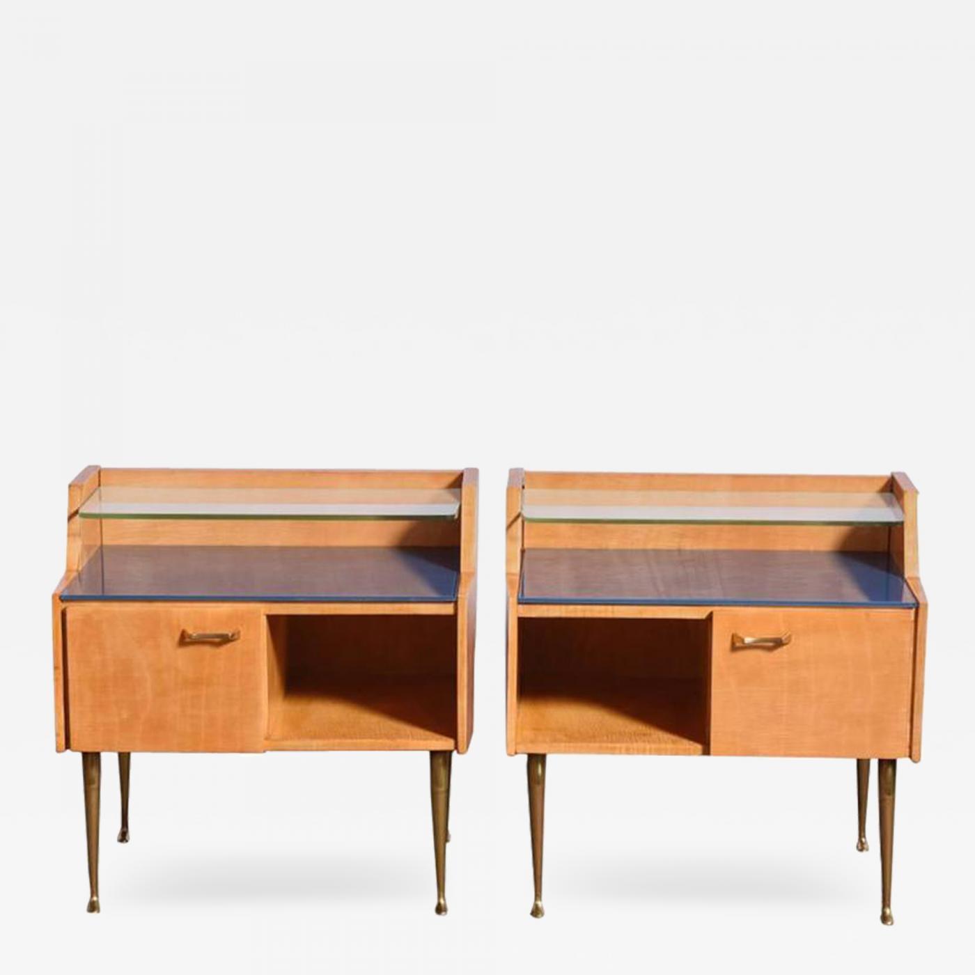 Pair of 1950s Nightstands