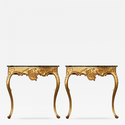 Pair of Late 18th Century Console Tables