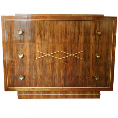 Art-deco chest of drawers by De Coene