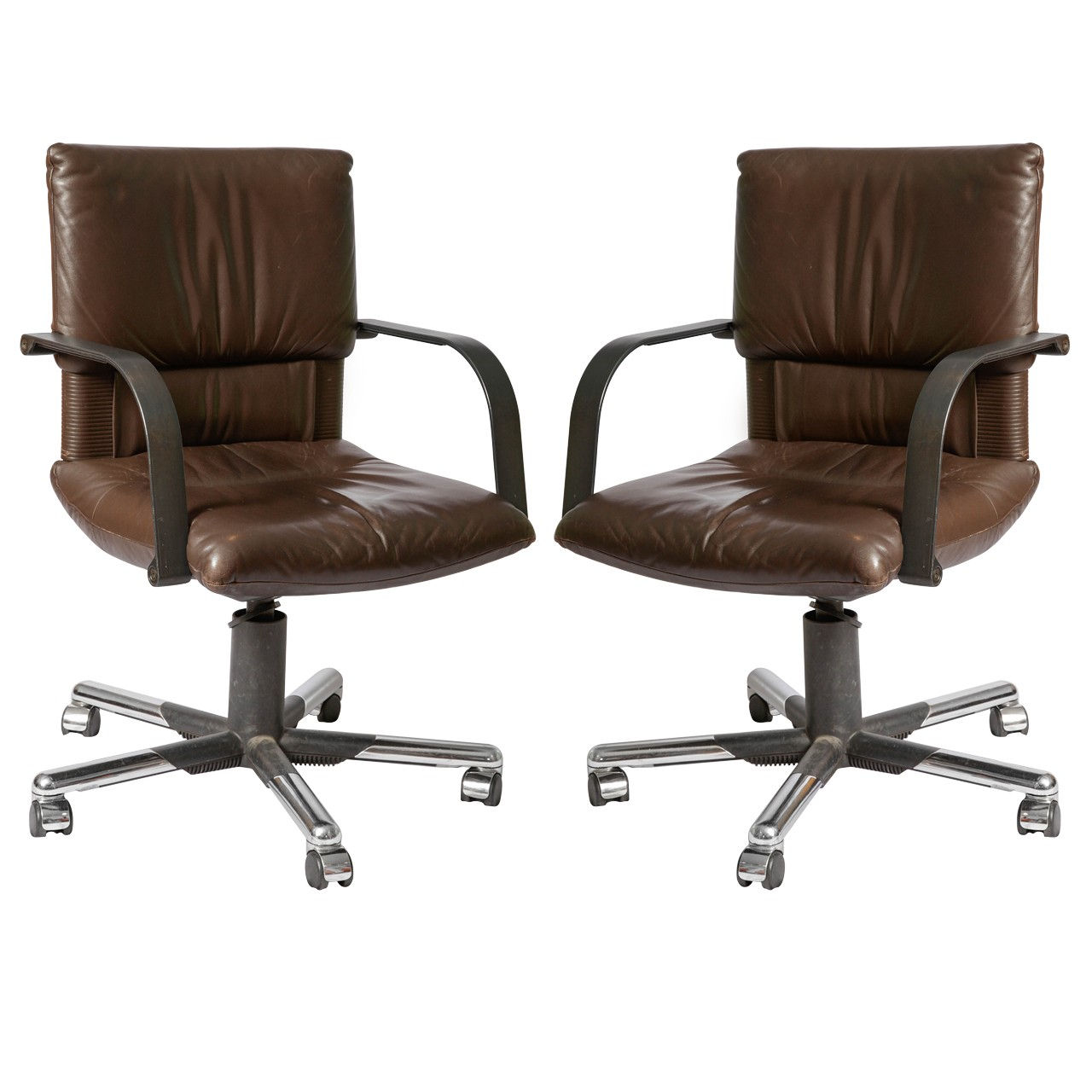 Swivel chairs by Mario Bellini for Vitra