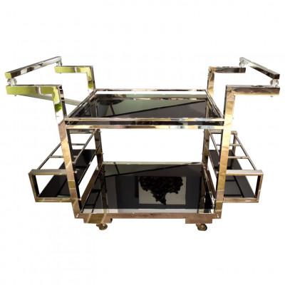 Art-Deco Bar Cart