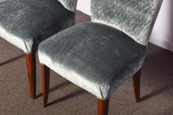 Set van 3 art deco stoelen