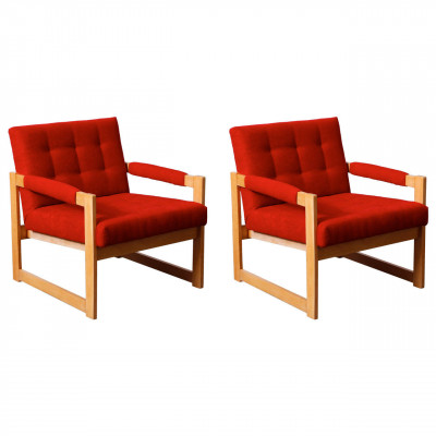 Pair of 1960s armchairs