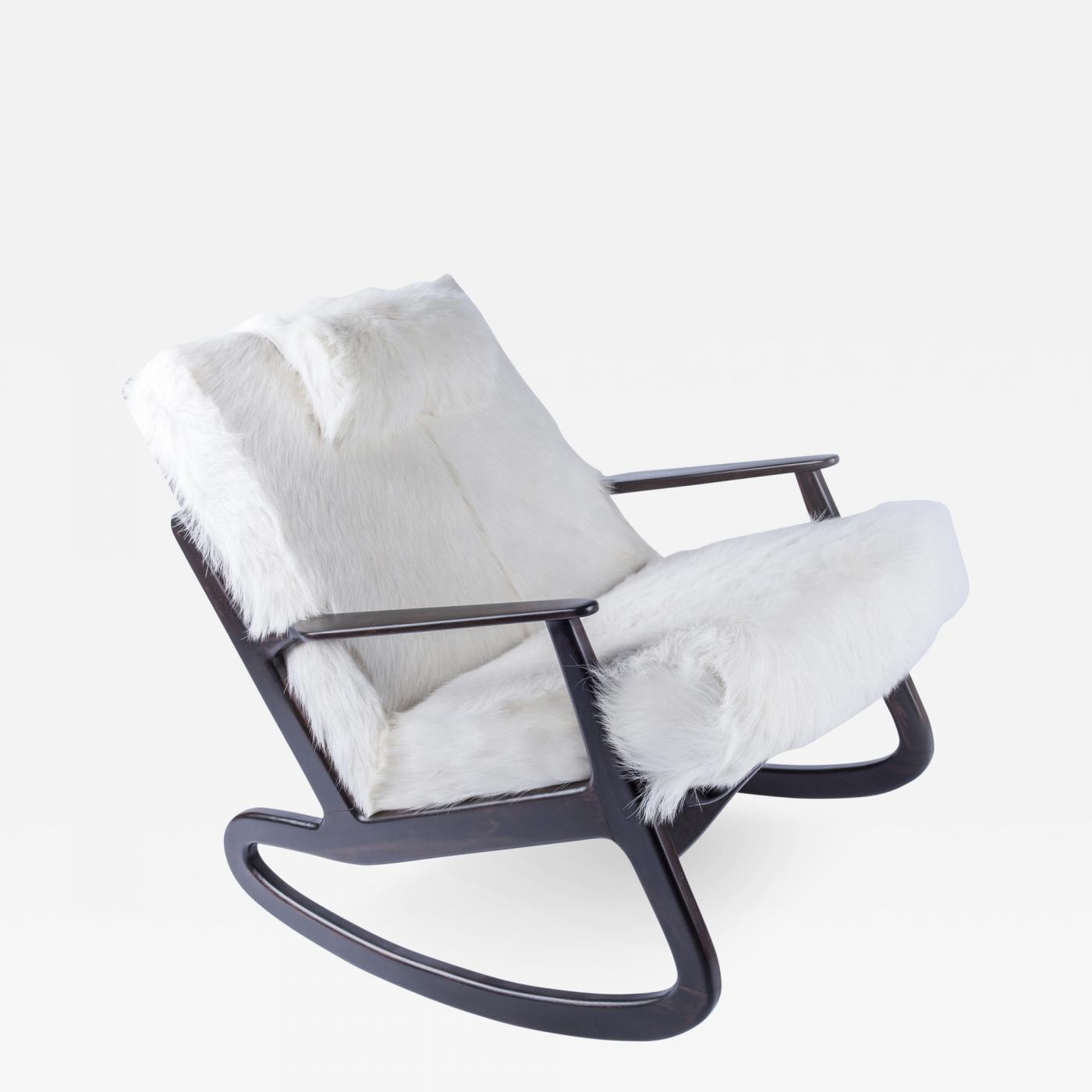 Rocking Chair in the Manner of Vladimir Kagan
