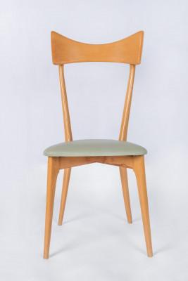 Set of six Ico Parisi chairs