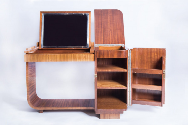 Desk- vanity art-deco