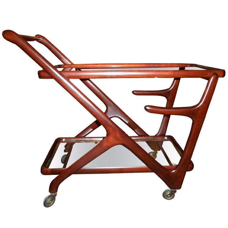 Bar cart from 1950 by Cesare Lacca