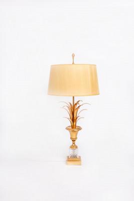 Lampe de table en laiton style Maison Charles