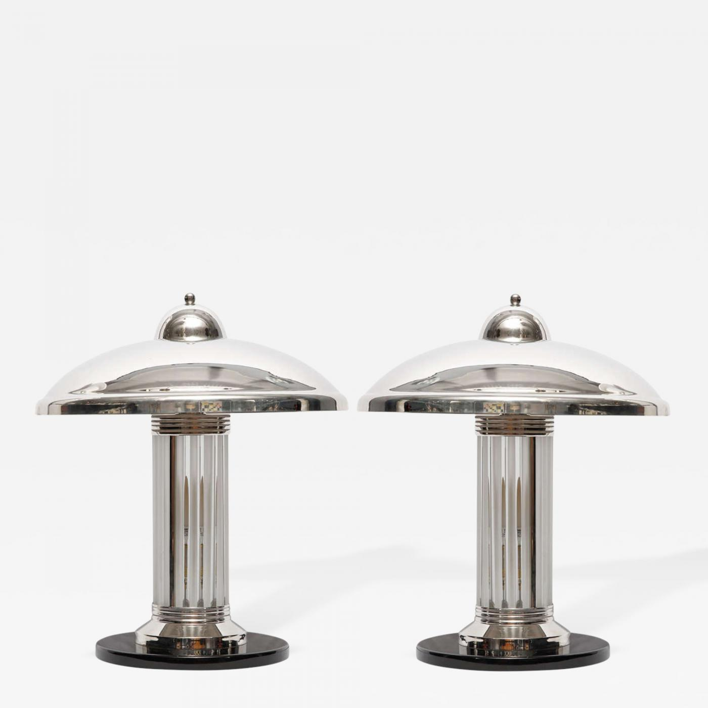 Pair of Art-Deco Table Lamps