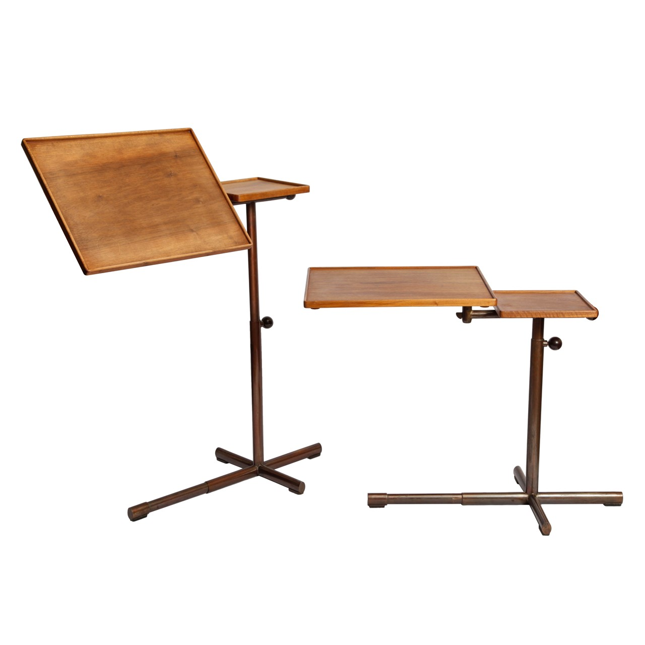 Pair of work tables by François Caruelle