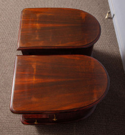 Pair of art-deco night stands