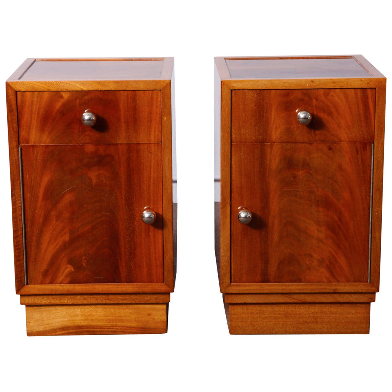 Pair of art deco night stands