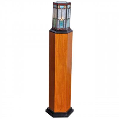 Art-Deco pedestal lamp