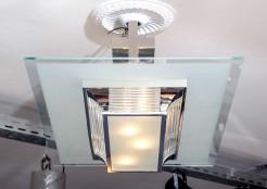 Art-deco chandelier
