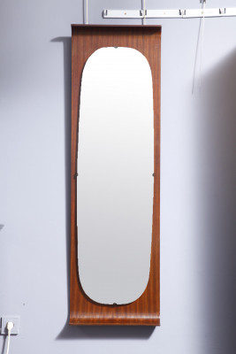 Plywood mirror