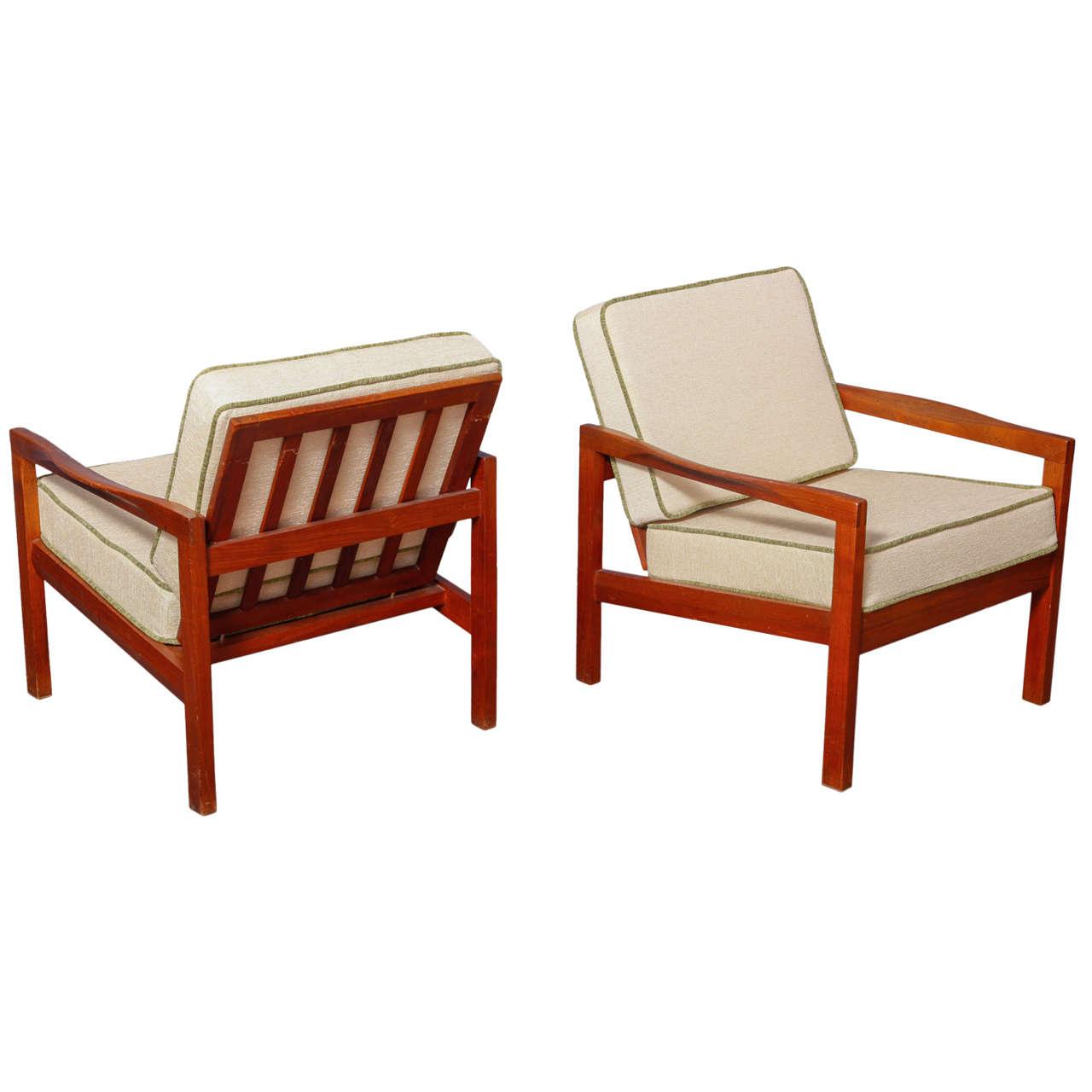 Pair of Greta Jalk Chairs