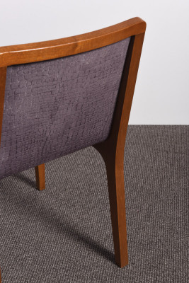 Four mid-century chairs