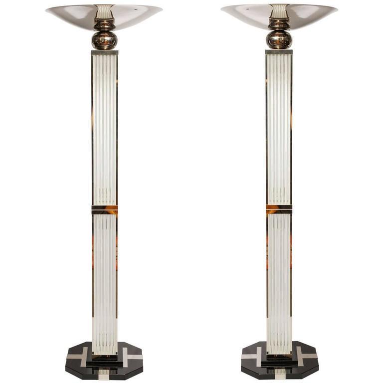 Set of Art Deco Torches