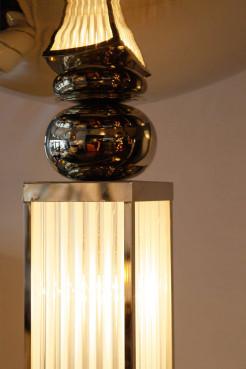Paire de lampadaires art-déco Petitot