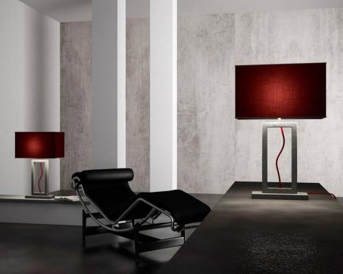 Modern Marble Based Table Lamp