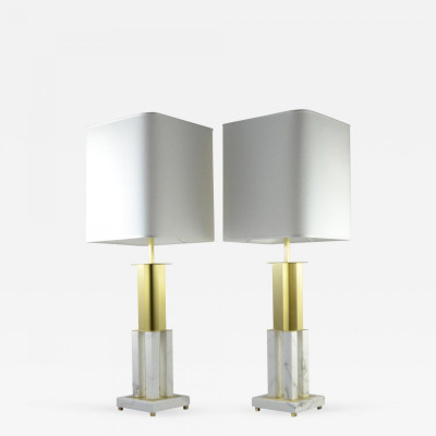 Calacatta Marble Table Lamps