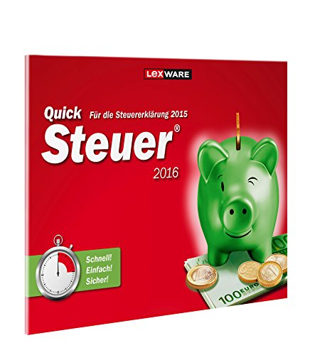 QuickSteuer 2016 (für Steuerjahr 2015) Windows-Version