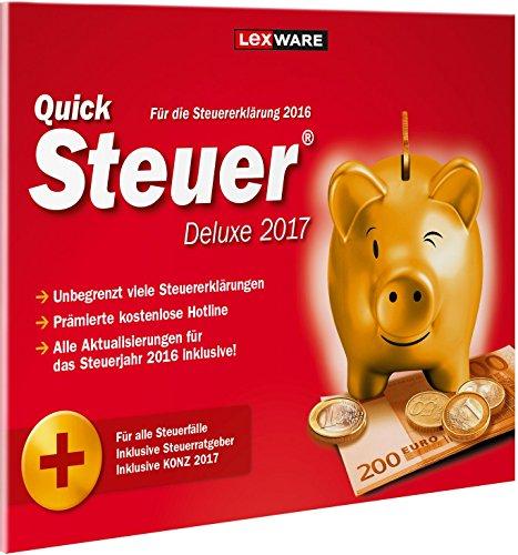 QuickSteuer Deluxe 2017 (für Steuerjahr 2016)