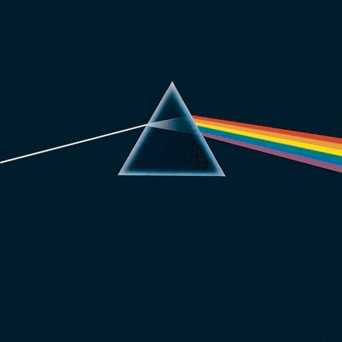 Pink Floyd: The Dark Side of the Moon (1973) Illustration by George Hardie