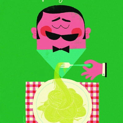 Irving and Co has worked with illustrator Adrian Johnson to create a spaghetti poster for Carluccio's. The work is part of a series of posters created in conjunction with illustrators to promote the restaurant chain's products.
