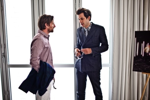 Mark Ronson and Spike Jonze