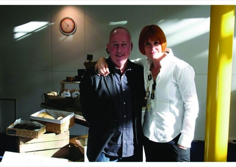 Small Back Room's Callum Lumsden and Mary Portas