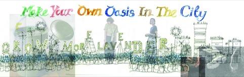 Sketch for Hawkins Brown's Oasis window
