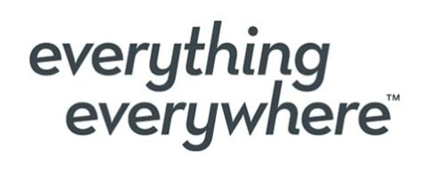 Everything Everywhere branding by Figtree