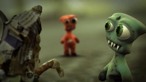 Onedotzero film Ant Len by Duncan Rait and Jon Marsh
