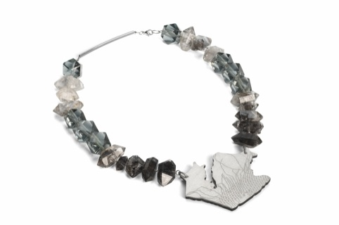 Dance Floor Breaks Necklace by Karen Marchbank