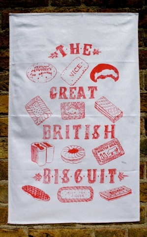 Tea towel by Jill Tytherleigh