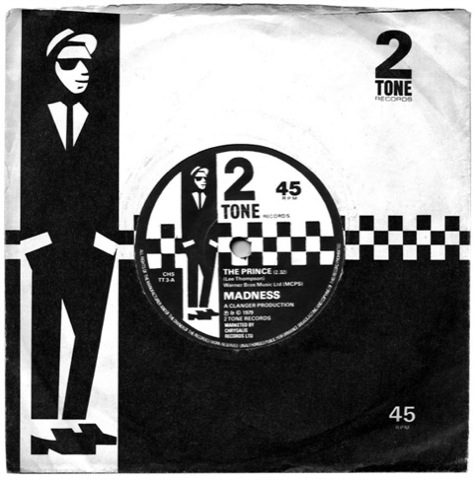 2Tone record sleeve design – creative directed by Jerry Dammers of the Specials