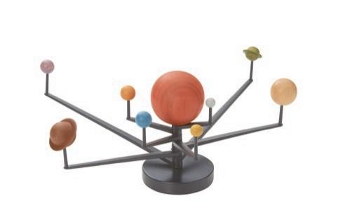 Muju Wooden Solar System