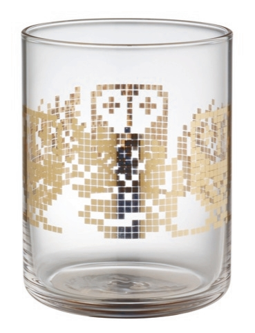 Habitat Argento glassware