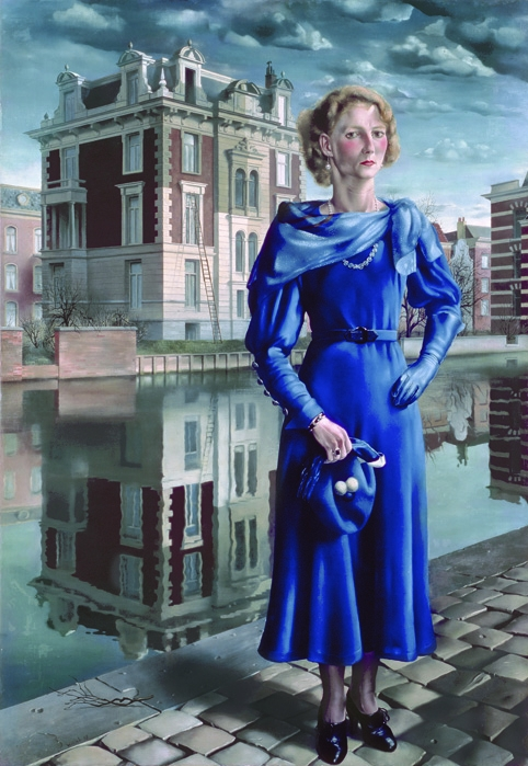 Carel Willink, Gemeenteremuseum, Mrs. Sylvia Willink/Bridgeman
