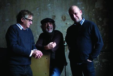Fernando Trueba, Tono Errando and Javier Mariscal