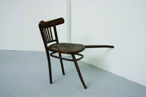 Hector Mamet's Leaning Chair