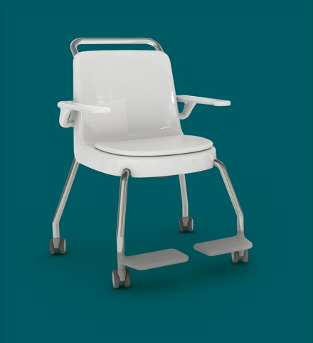 Commode created by Pearson Lloyd with Kirton Healthcare as part of Design Bugs Out